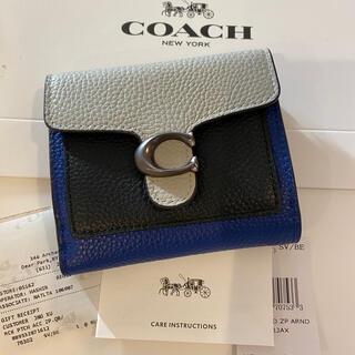 COACH - COACH コーチ 新品未使用 76302 三つ折り財布 タビーカラーブロック
