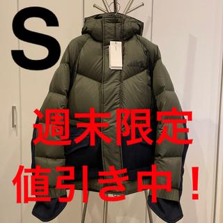 sacai - sacai nike down parka ダウンパーカー カーキ S