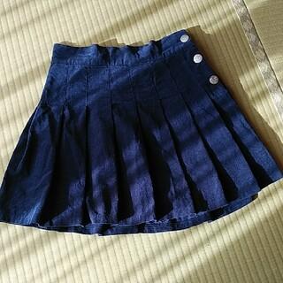 レピピアルマリオ(repipi armario)のサリーさん専用レピピアルマリオコーデュロイプリーツスカートMサイズ【160】(スカート)