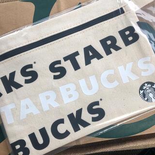 スターバックスコーヒー(Starbucks Coffee)のスタバホリデー 2020ノベルティポーチ ★未開封★ ポーチ スタバ(ノベルティグッズ)