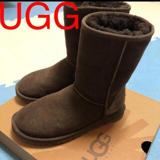 UGG - UGG アグ ムートンブーツ チョコレート ブラウン 箱付き