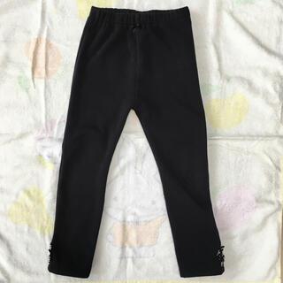 マザウェイズ(motherways)のmotherways  黒の女の子用 冬用ズボン  110サイズ(パンツ/スパッツ)