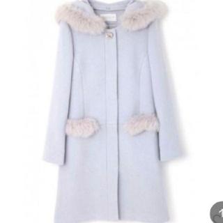 PROPORTION BODY DRESSING - プロポーションボディドレッシング♡ファー ビジュー付き コート
