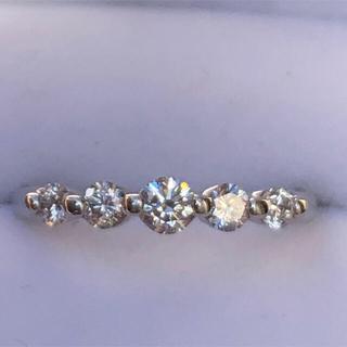 ダイヤモンドリング プラチナ エタニティ