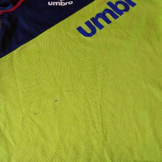 UMBRO(アンブロ)のUMBRO アンブロ セット サイズ130 スポーツ/アウトドアのサッカー/フットサル(ウェア)の商品写真