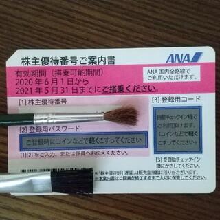 エーエヌエー(ゼンニッポンクウユ)(ANA(全日本空輸))のANA 株主優待券 2020/6/1〜2021/11/30(その他)