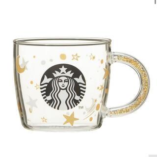 スターバックスコーヒー(Starbucks Coffee)のスターバックス マグカップ スタバ 耐熱 グラスマグ ホリデー  マグカップ(グラス/カップ)