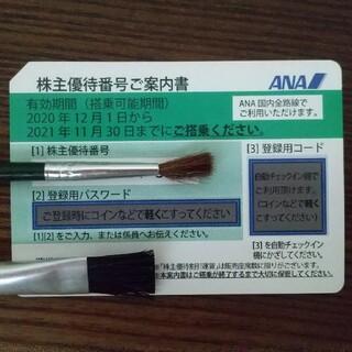 エーエヌエー(ゼンニッポンクウユ)(ANA(全日本空輸))のANA 株主優待券 2020/12/1〜2021/11/30(その他)