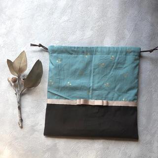 ファミリア(familiar)の【handmade】コップ袋 巾着袋 さくらんぼ(外出用品)