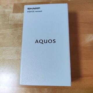 AQUOS - AQUOSsense4SH-M15ブラックSIMフリー