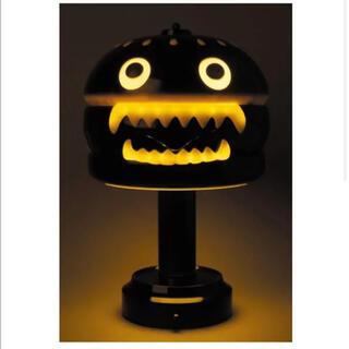 メディコムトイ(MEDICOM TOY)の新品 UNDERCOVER HAMBURGER LAMP BLACK(その他)