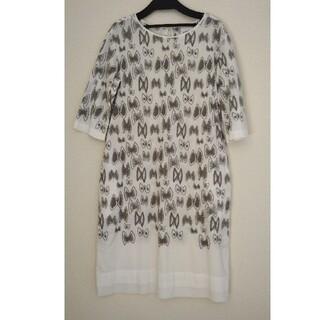 mina perhonen - ミナペルホネン skyflower ワンピース 38 ランドリー ドレス