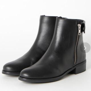 イエナ(IENA)の定価約18000円 PUPE 新品 本革 サイドジップ ショートブーツ(ブーツ)