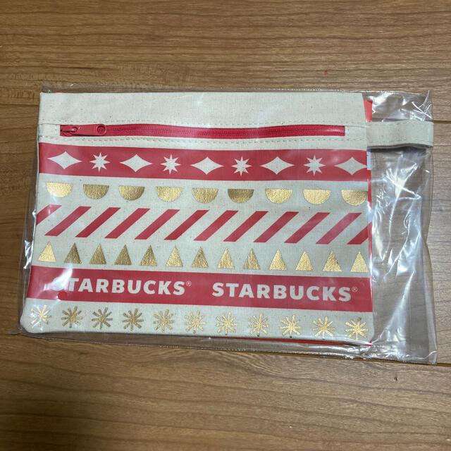 Starbucks Coffee(スターバックスコーヒー)のスターバックス ホリデーポーチ 2020 エンタメ/ホビーのコレクション(ノベルティグッズ)の商品写真