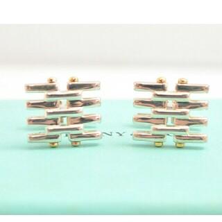 Tiffany & Co. - 【USED】TIFFANY ティファニー 925・750コンビ カフスボタン