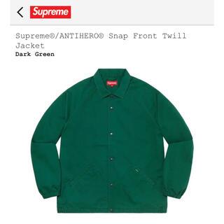 シュプリーム(Supreme)のSupreme®︎/ANTIHERO®︎ Front Twill Jacket(その他)