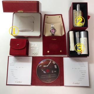 カルティエ(Cartier)の【2020年11月メンテ済み】カルティエ ミスパシャ(腕時計)