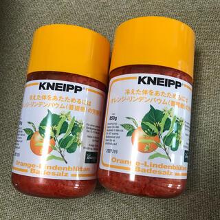 Kneipp - クナイプ バスソルト オレンジ リンデンバウム 菩提樹の芳香浴 850g 2個
