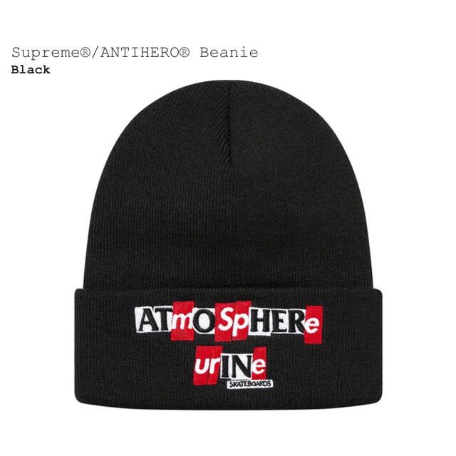 Supreme(シュプリーム)のsupreme ANTIHERO Beanie メンズの帽子(ニット帽/ビーニー)の商品写真