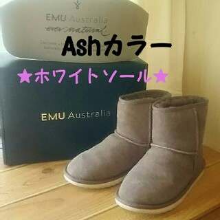 エミュー(EMU)のEMU Stinger Mini(White/Ash)(ブーツ)