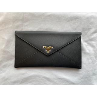 PRADA - PRADA プラダ レター型 サフィアーノ 長財布 正規品 美品