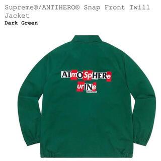 シュプリーム(Supreme)のSupreme ANTIHERO Snap Front Twill Jacket(ブルゾン)