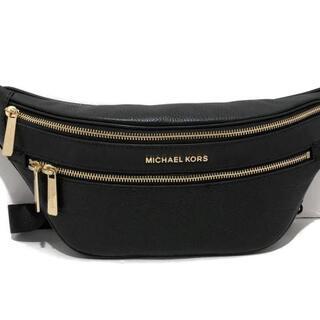 Michael Kors - マイケルコース ウエストポーチ美品  - 黒
