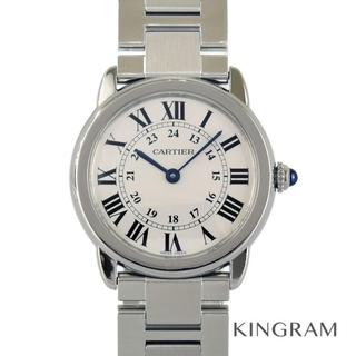 カルティエ(Cartier)のカルティエ ロンドソロSM  レディース腕時計(腕時計)