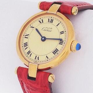 カルティエ(Cartier)のカルティエ Cartier マスト ヴェルメイユ 590004(腕時計)