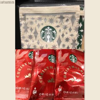 Starbucks Coffee - スタバポーチ☆クリスマスブレンド☕️
