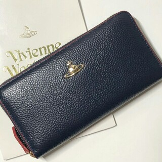 Vivienne Westwood - 限定セール ヴィヴィアンウエストウッド 長財布 55339 ネイビー 人気