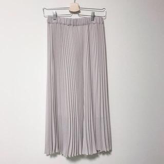 heather - プリーツスカート