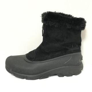 ソレル(SOREL)のソレル ショートブーツ 24 レディース 黒(ブーツ)