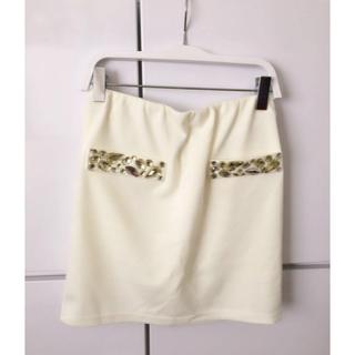 ダチュラ(DaTuRa)のダチュラ DaTuRa  ポケットビジュー スカート(ミニスカート)