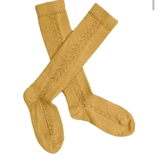 キャラメルベビー&チャイルド(Caramel baby&child )の新品!コンドル オープンワークソックス(靴下/タイツ)