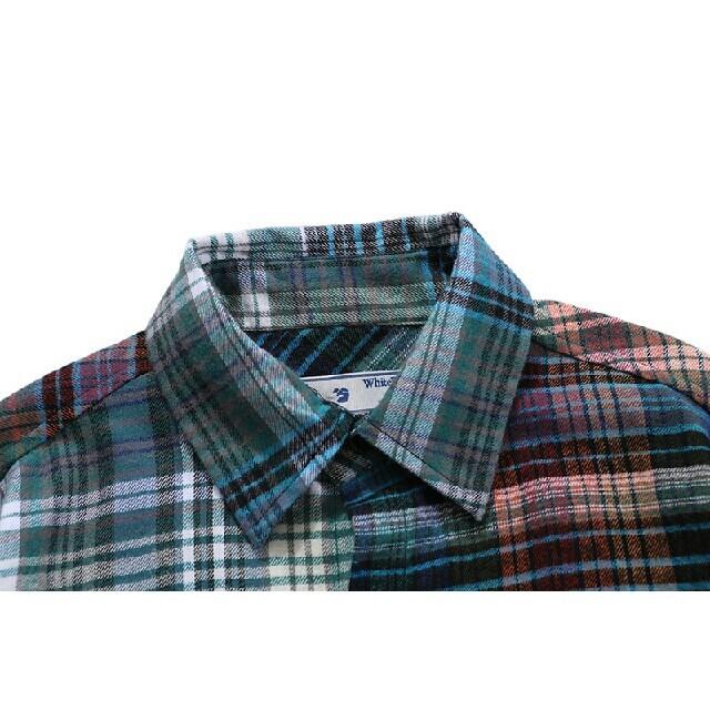 OFF-WHITE(オフホワイト)の☆特別価格☆オフホワイト OFF-WHITE  男女兼用 シャツ#10 メンズのトップス(シャツ)の商品写真