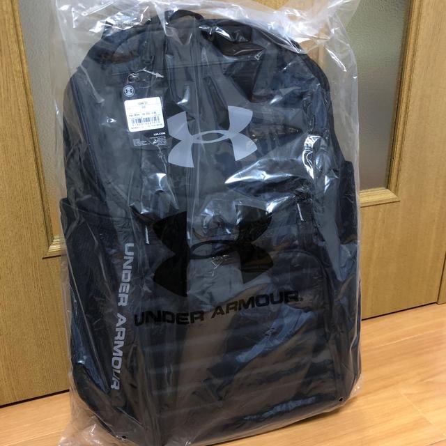 UNDER ARMOUR(アンダーアーマー)の【新品未使用】UA アンダーアーマー アンディナイアブル バックパック メンズのバッグ(バッグパック/リュック)の商品写真