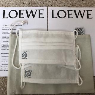LOEWE - 新品★レア★LOEWE ロエベ 非売品2枚 マスクポーチ