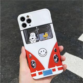 SNOOPY - iPhoneケース スヌーピー  スマイル