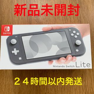 Nintendo Switch グレー スイッチ ライト 本体 ニンテンドー(家庭用ゲーム機本体)