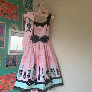 Angelic Pretty - アンジェリックプリティ ジャンパースカート Fantastic dolly