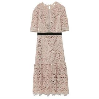 FRAY I.D - セルフォードCELFORD フラワーレースワンピース ドレス