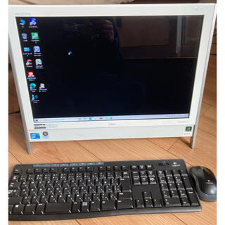 エヌイーシー(NEC)のNEC PC-VN550/T 白 Core2Duo E7400 4G 500G(デスクトップ型PC)