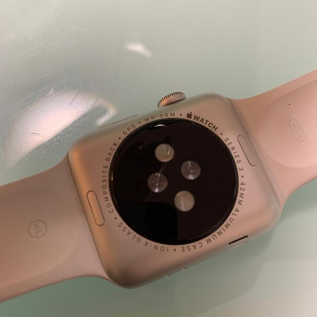 Apple Watch(アップルウォッチ)のApple Watch 3 gps 42mm メンズの時計(腕時計(デジタル))の商品写真