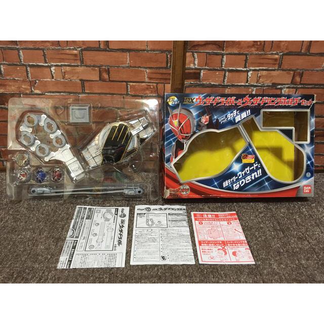 BANDAI(バンダイ)のDXウィザードライバー&ウィザードリングホルダーセット 仮面ライダー ウィザード エンタメ/ホビーのコスプレ(小道具)の商品写真