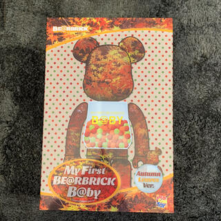MEDICOM TOY - BE@RBRICK  AUTUMN LEAVES Ver.100%&400%