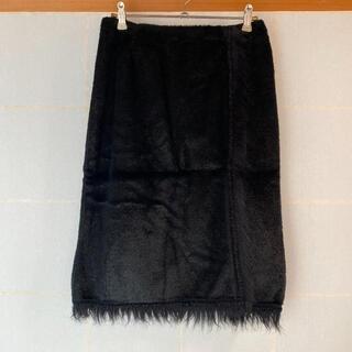 アナスイ(ANNA SUI)のファースカート(ひざ丈スカート)