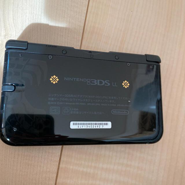 ニンテンドー3DS(ニンテンドー3DS)の3DS LL モンハン仕様☆任天堂、モンスターハンター エンタメ/ホビーのゲームソフト/ゲーム機本体(携帯用ゲーム機本体)の商品写真