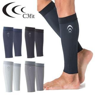 シースリーフィット(C3fit)の新品 XL C3fit ふくらはぎサポーター・タイツ・ゲーター 黒 下肢静脈瘤(ウェア)