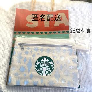 Starbucks Coffee - 新品未使用 非売品スターバックス スタバクリスマス2020 ポーチ&ショッパー